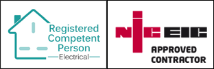 Registered Competent Person NICEIC approved contractor